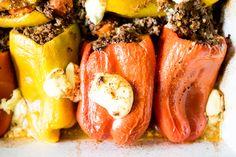 Beberé Enchilada Style Stuffed Peppers - Perfect Keto