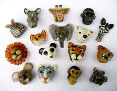 cool lampworked animal beads by Joy Cichewicz