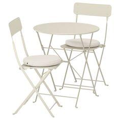 NORDEN Gateleg table - white - IKEA Outdoor Cushion Covers, Outdoor Cushions, Chair Cushions, Swivel Chair, Outdoor Table Tops, Outdoor Tables And Chairs, Picnic Tables, Outdoor Dining, Balkon Design