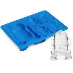 Free & Fast Shipping within U.S. Complete 8 piece set including Death Star, Darth Vader, Han Solo, R2D2, Millenium Falcon, X-Wing, Stormtroopers, and Boba Fett. Great for molding chocolate desserts, i