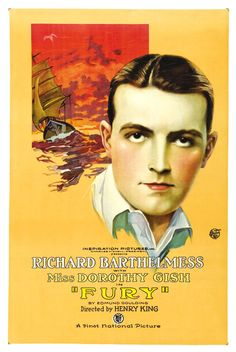 1923 Fury <> from ART & ARTISTS: Film Posters 1913 - 1929