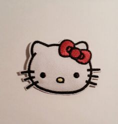 1pc Hello Kitty Ironon Applique Embroidery Patch by ClubKidCulture, $2.99