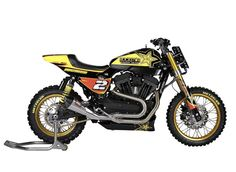 """Harley XR 1200 """"RockStar Energy MXR"""" by Shaw Speed & Custom"""