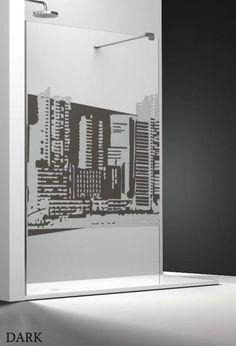 Profiltek Profiltek Dekordusche Belus Duschwand 8 mm Edificios
