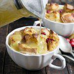 Cranberry Orange Bread Pudding