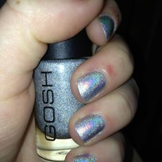 My own nails: GOSH Holographic