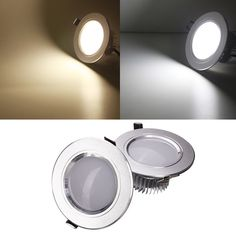 5W LED Down Light Ceiling Recessed Lamp Dimmable 220V + Driver