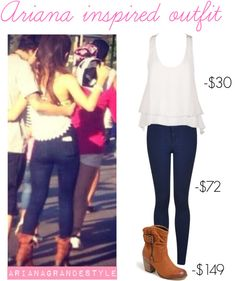 Ariana Grande Style. So expensive but cute!!
