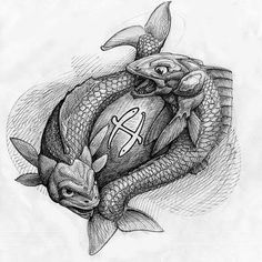 Pisces Horoscope Tattoos - Bing Images