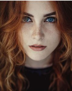 Beautiful Faces — redheads-do-itbetter:   Freezed and melting with...