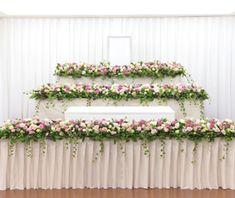 花祭壇集|葬儀・葬式・家族葬なら日比谷花壇のお葬式 Funeral Flower Arrangements, Funeral Flowers, Buddha Flower, Table Flowers, Centre Pieces, Bridesmaid Dresses, Wedding Dresses, Floral Wreath, Bouquet