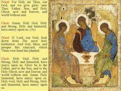 Intro to Orthodox Worship, very beautiful @Sheryl VanderWagen
