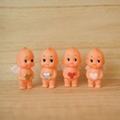 Angel Kewpie dolls with hearts... adorable!