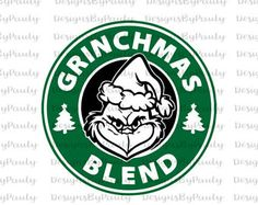 Grinch / Grinchmas Starbucks Logo Cut File in Svg, Eps, Dxf, Png, and Jpeg for Cricut & Silhouette by SVGFileDesigns on Etsy Grinch Christmas Decorations, Grinch Christmas Party, Grinch Party, Christmas Vinyl, Merry Christmas, Christmas Mugs, Christmas Projects, Christmas Shirts, Disney Christmas