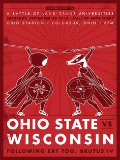 2013 Ohio State Buckeyes Football  OSU/Wisconsin
