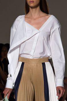 Victoria Beckham at New York Fashion Week Spring 2017 - Details Runway Photos