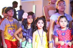 Workshop at India Kids fashion show !!