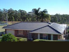 Tile Roof Restoration - Charcoal