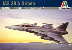 Italeri 2638 JAS 39A Gripen
