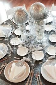 Corporate event christmas tables