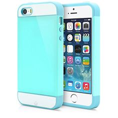 iPhone 5 Case, iPhone 5S Case, MagicMobile® Hybrid Cute Ultra Slim Thin Impact Hard Durable TPU Protective Cover Armor Shell [ Turquoise - Light Blue ] Free Screen Protector / Film and Pen Stylus MagicMobile