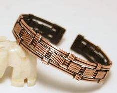 Wire Wrapped Jewelry Copper Silver Wire Jewelry by BeyhanAkman - Men's style, accessories, mens fashion trends 2020 Copper Cuff, Copper Bracelet, Metal Bracelets, Copper Jewelry, Bracelets For Men, Wire Jewelry, Handmade Jewelry, Man Jewelry, Making Bracelets