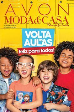 Avon Folheto Moda & Casa Campanha 4/2017