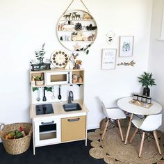 Playroom envy!! Tahnee I need you to makeover our playroom! We reopen Monday with our first release of tiny dollhouse size teepees... all other sizes, like the small in this pic, will be restocked in a fortnight . . . . . . . . . . . . . Stunning from @allaboutparker #playroom #kidsroom #play