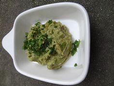 Vegetarischer Avocado - Brotaufstrich