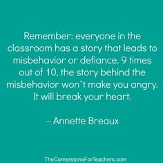 My Philosophy on Challenging Behaviors Calm Down Kit. How to manage behaviors in a special education program and autism classroom. visual supports for teaching students how to cope with emotions Teaching Quotes, Teaching Tips, Being A Teacher Quotes, Jean Piaget, Classroom Quotes, Autism Classroom, Classroom Behavior, Teacher Inspiration, My Philosophy