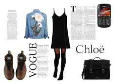 """""""YOU AND ME"""" by queenstone on Polyvore featuring mode, ASOS, Dr. Martens et Chloé"""