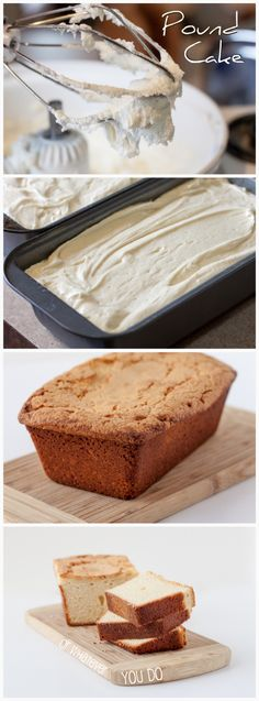 Cream Cheese Pound Cake from OrWhateverYouDo.com #pound_cake