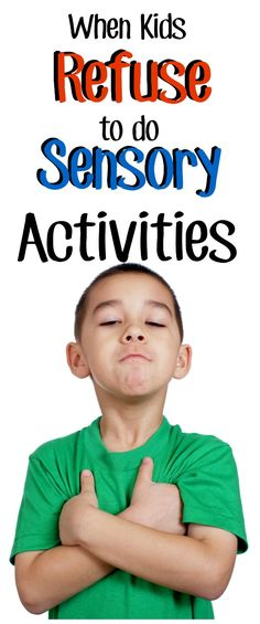 WHY do kids resist sensory activities when they're seekers and should be craving it? And how on earth do you get an avoider to do sensory activities? Check out this post for answers and ideas to try with your kids today. Sensory Diet, Sensory Play, Sensory Therapy, Sensory Tools, Autism Sensory, Autism Activities, Activities For Kids, Newborn Needs, Sensory Integration