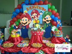 Decoración  Mario Bros