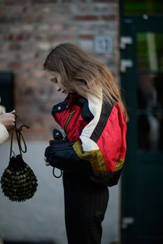 Check out the Best Street Style from Oslo Runway FW18