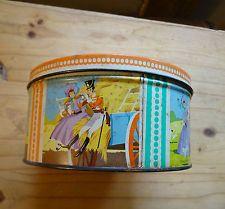 Vintage Quality Street Tin .
