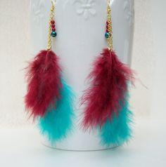 Ohrringe ~●~federleicht~●~ von glanzundgeschmeide auf DaWanda.com