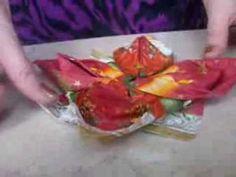 Składnie serwetki-lilia