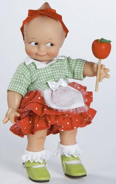 Candy Apple Kewpie from The Marie Osmond Doll Company