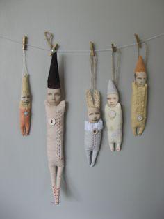Doll ornaments