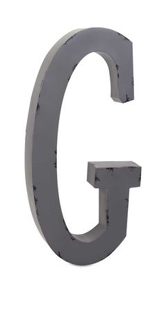 Lowercase Metal Wall Letters N Letter Or U Lowercase With Satin Metal Finish  Wall Decor