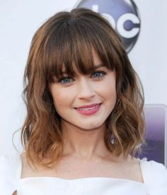 Best Medium Hairstyles with Bangs 2017