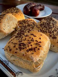 Kefírové kocky sa ľanovým semienkom | bez lepku Bread, Health, Recipes, Food, Diet, Health Care, Brot, Recipies, Essen