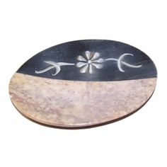Sandostone & Carved Marble soap Dish - 155mm x 90mm