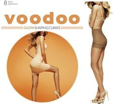 WOMENS VOODOO GLOW SHAPING CURVES SEXY PANTYHOSE