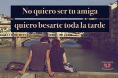 Te lo digo de una vez, VAS A TERMINAR LASTIMADA. ... #Blog #Amistad #Friendzone #Frase #Amor