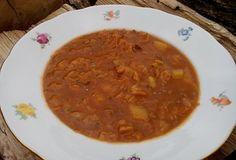 Kapustová polévka s bramborem a mletým masem  - Recepty.cz - On-line kuchařka Granola, Food And Drink, Ethnic Recipes, Muesli