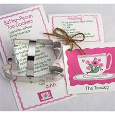 Cookie Cutter Tea Cup Tin