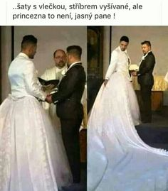 Weddings Discover Man Wears Wedding Gown In A Gay Wedding ( Photo ) - Nairaland / General - Nigeria Wedding Attire Wedding Gowns Haha Otaku Meme Gay Couple Funny Photos One Shoulder Wedding Dress Wedding Photos Funny Memes