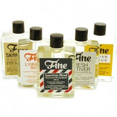 Fine Classic Aftershave Splash - In Six Scents